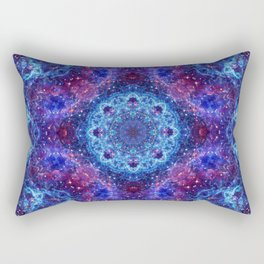Shiva Blue Mandala Rectangular Pillow