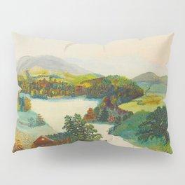Anna Mary Robertson 'Grandma' Moses Upper Cambridge Valley American Folk Art Pillow Sham