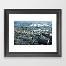 Mysteries of the Sea Framed Art Print
