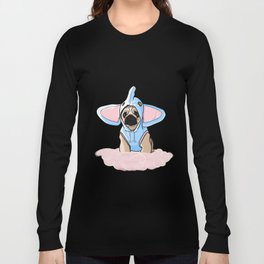 Pug Elephant Costume Long Sleeve T-shirt