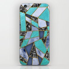 Abstract #457 Marble Shards iPhone & iPod Skin