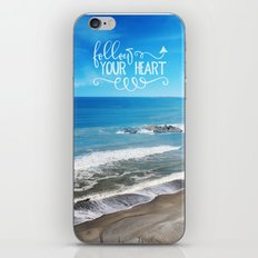 Follow your heart iPhone & iPod Skin