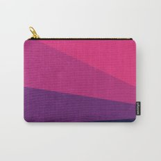 Stripe VII Ultraviolet Carry-All Pouch