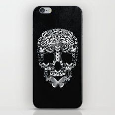 Cranium Butterflies B&W Option iPhone & iPod Skin