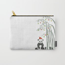 Christmas Panda Carry-All Pouch