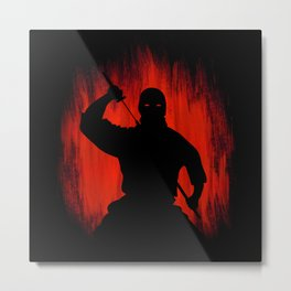 Ninja / Samurai Warrior Metal Print
