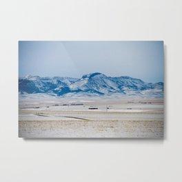 Rocky Mountain Front Montana Metal Print