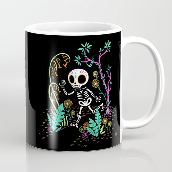 Sugar Skull Jungle Mug