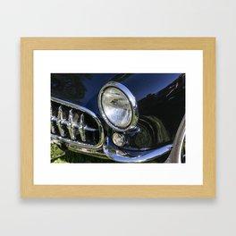 Photograph of Classic Car Framed Art Print