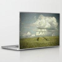 minimalism Laptop & iPad Skins featuring landscape minimalism by Dirk Wuestenhagen Imagery