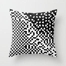 noisy pattern 12 Throw Pillow