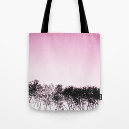 Lovely pink sky Tote Bag