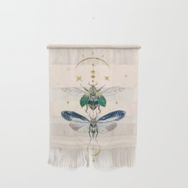 Moon insects Wall Hanging
