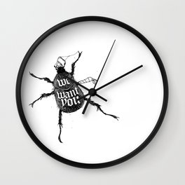 We want you Wall Clock