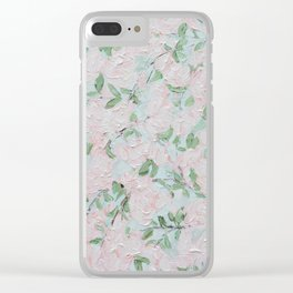 April Blooms Clear iPhone Case