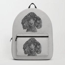 Poodle - black Backpack