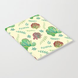Paddle Plant Pattern Notebook