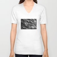 smoke V-neck T-shirts featuring Smoke. by Assiyam
