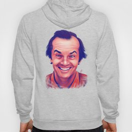 Young Jack Nicholson and the evil smile - digital painting Hoody