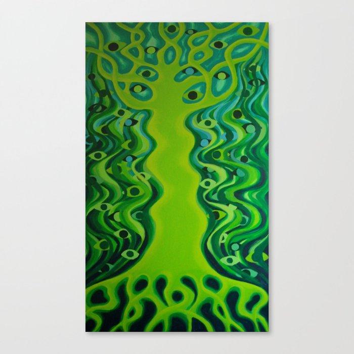 World tree / Elupuu Canvas Print