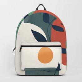 Minimal Abstract Shapes No.43 Backpack
