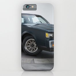 GM Dark Blue Grand National Regal T-type Turbo T iPhone Case