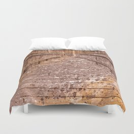 Acrylic Sepia Bridge Duvet Cover