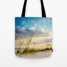 Sea Oats Beach Sunset Tote Bag