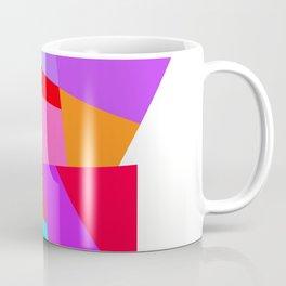 Happy colourful geometric pattern Coffee Mug