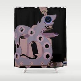 Machine one Shower Curtain