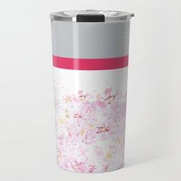Colorblock Cherry Travel Mug