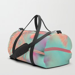 Floral abstract (80) Duffle Bag