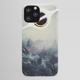 Interstellar Inspired Fictional Sci-Fi Teaser Movie Poster iPhone Case
