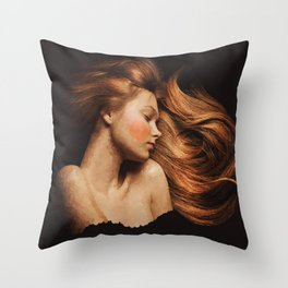 Sleeping Beauty / La Belle Au Bois Dormant Throw Pillow