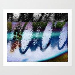Parallel universe Art Print