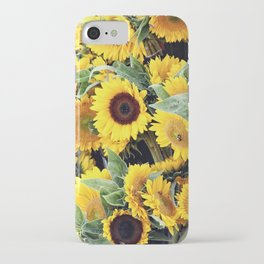 Happy Sunflowers iPhone Case