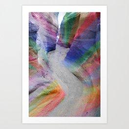 Color Canyon Art Print