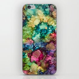 Abstract Design of Explosive Colors iPhone Skin