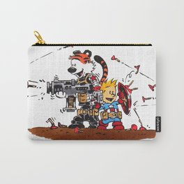 Calvin and Hobbes Inspired Hero Parody Carry-All Pouch