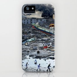 Still Life - Totoro Tsunami Series iPhone Case