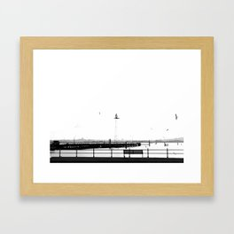 I want you to stay Framed Art Print