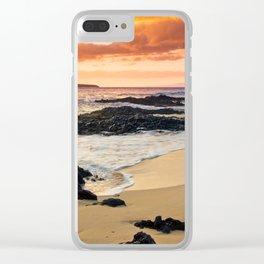 Paako Beach Dreams Clear iPhone Case