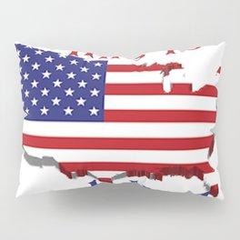 July 4 1776 America Pillow Sham