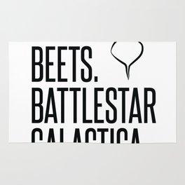 Bears Beets Battlestar Galactica Rug