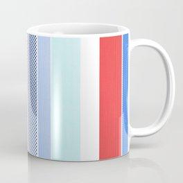 Halftone Stripes Coffee Mug