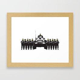 Banksy Have a nice day Framed Art Print
