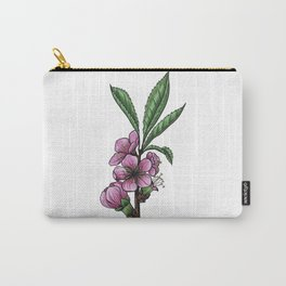 Almond Tree Flowers Flower Carry-All Pouch