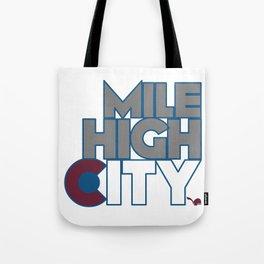 Mile High City - A Tote Bag