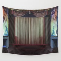 theatre Wall Tapestries featuring Orinda Theatre by Joshua Going