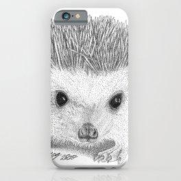 Hedgehog iPhone Case